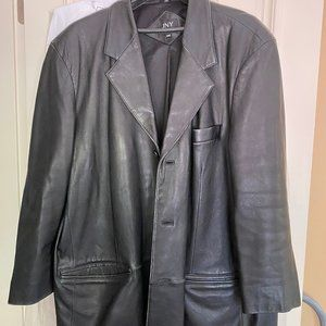 Men's Jones NY Leather blazer